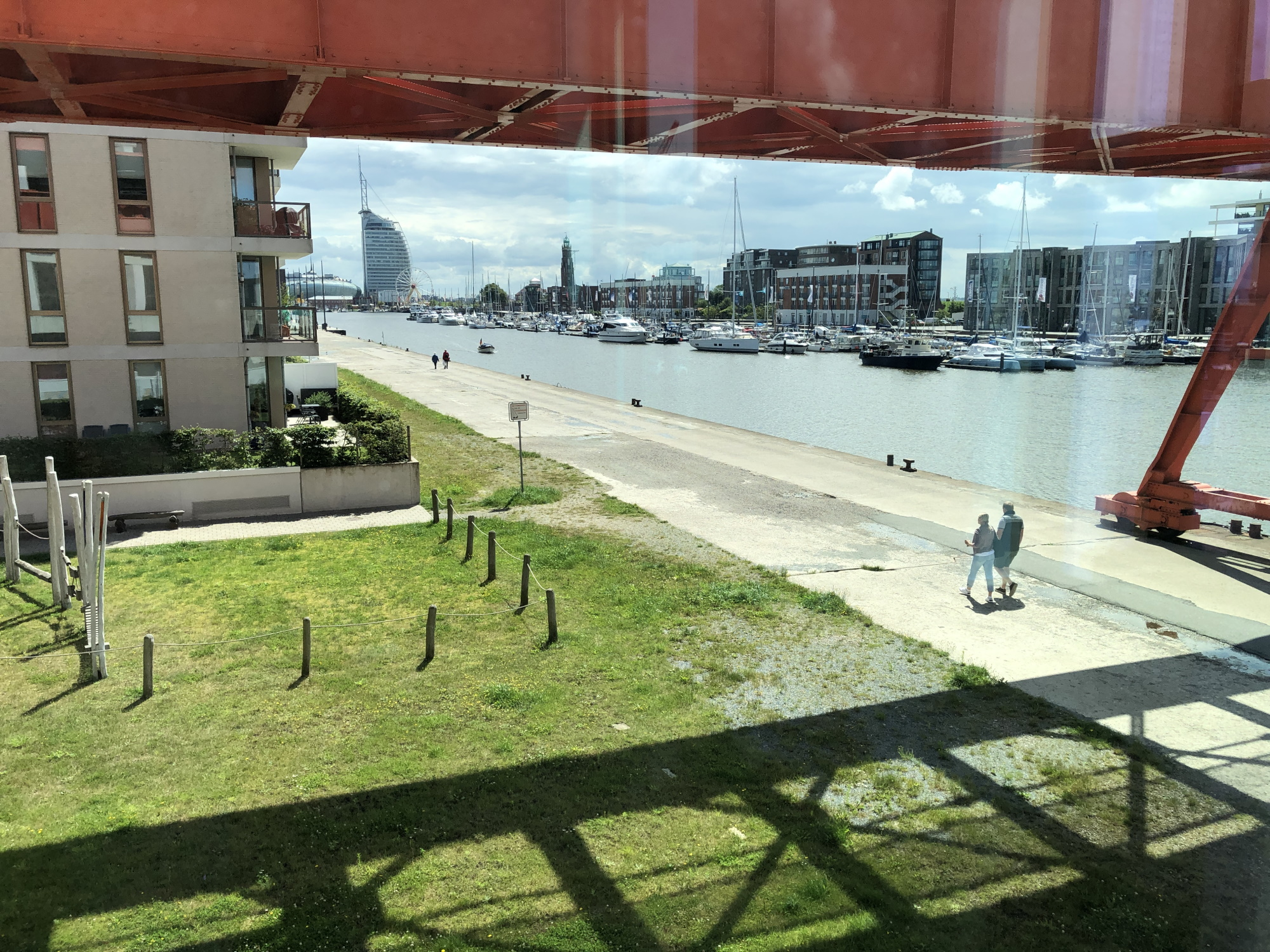 Nice View at Location Bremerhaven