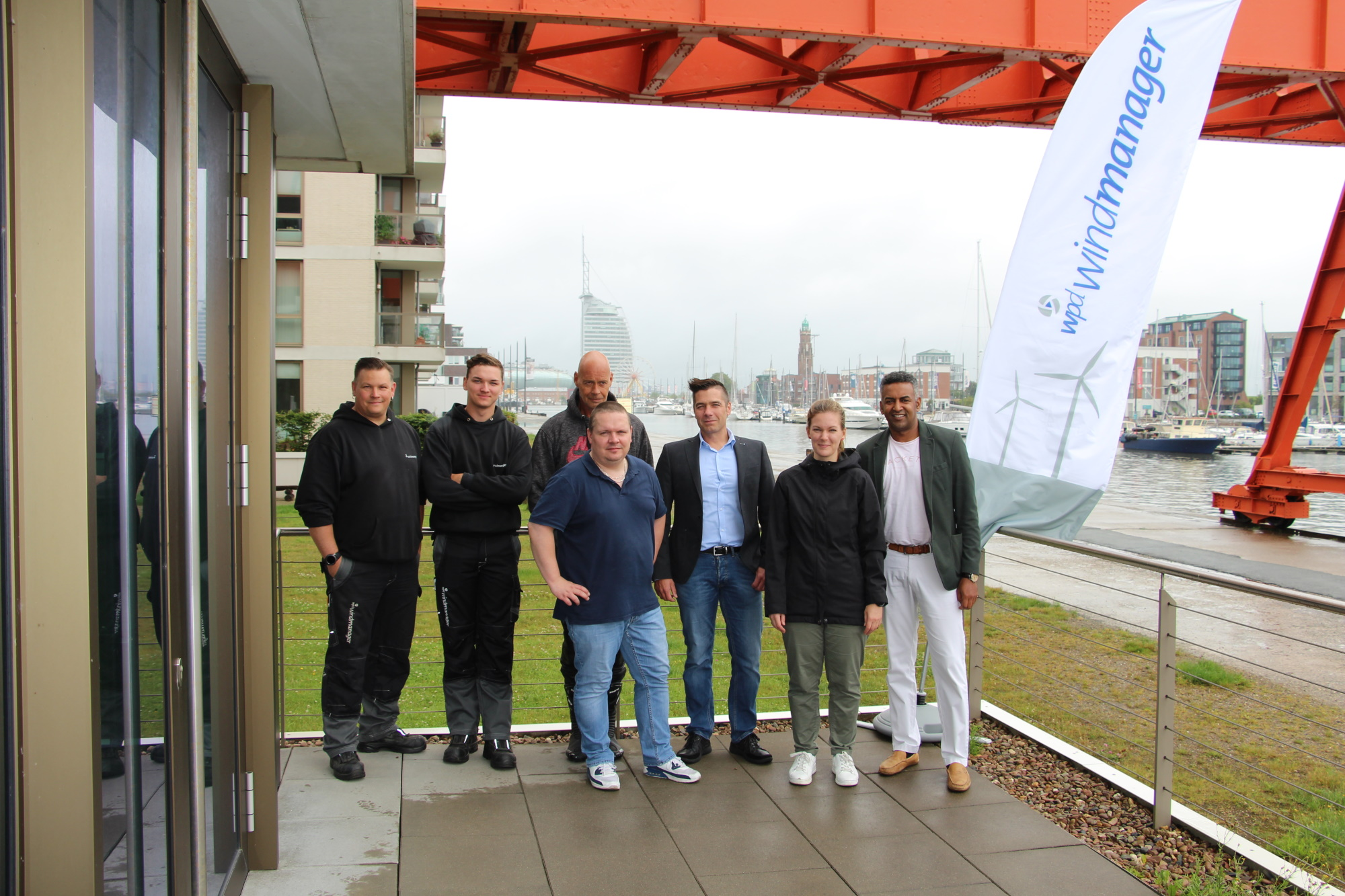 The Team at the Location Bremerhaven